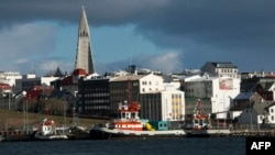 İslandiyanın paytaxtı Reykyavik şəhəri