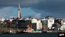 نمایی از ریکیاویک، پایتخت ایسلند