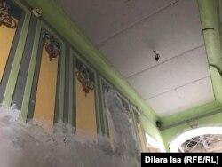 Темір жол вокзалының ішкі көрінісі. Арыс қаласы. Түркістан облысы, 12 тамыз 2019 жыл.
