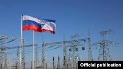 Запуск второй ветки энергетического моста из российской Кубани в аннексированный Крым. 15 декабря 2015 года