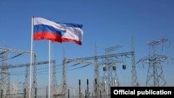 Запуск второй ветки энергомоста в Крым, декабрь 2015 года. Иллюстрационное фото