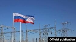 Запуск другої гілки енергомосту до Криму, грудень 2015 року. Ілюстративне фото