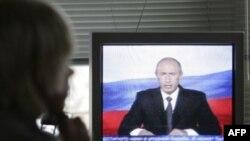 Жители Латвии хотели увидеть на своих телеэкранах не столько Путина, сколько его систему