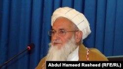 مولوی قیام الدین کشاف رئیس شورای سرتاسری علمای افغانستان