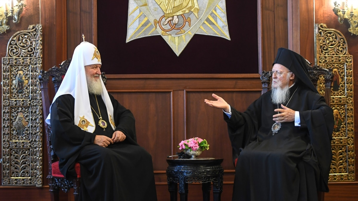 Orthodox Church Heads Discuss Ukraine Bid To Split With Russia