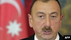 Әзербайжан президенті Ильхам Әлиев. 13 мамыр 2013 жыл.