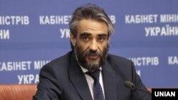 Максим Бланк під час прес-конференції в Києві 26 березня 2015 року