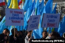 Кырымда Янукович тарафдарлары