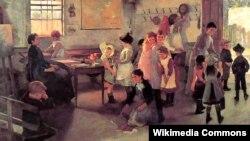 Элізабэт Форбс, «Канец школьных заняткаў» (1889).