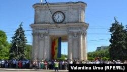 Demonstrații și proteste la Chișinău