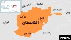 Afghan map (localization Farsi, Persian)