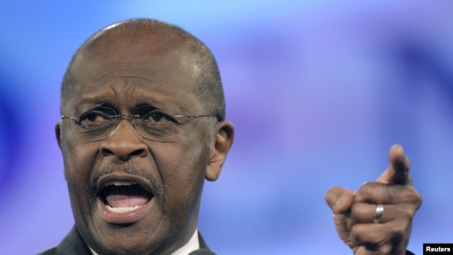 U.S. presidential candidate Herman Cain has recently emerged as a serious contender for the Republican Party's nomination.
