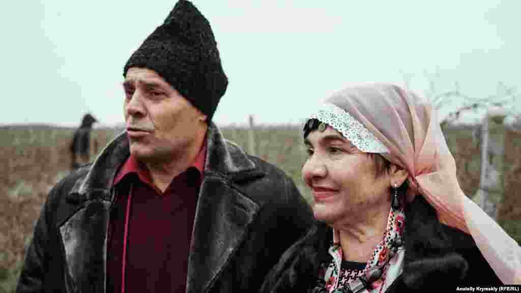 Активісти регіональної болгарської національно-культурної автономії – севастополець Савелій Бучко і Марія Рашкова з Ялти