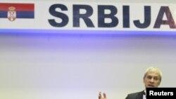 Predsednik Srbije Boris Tadić na ceremoniji otvaranja mostarskog sajma privrede, 13. april 2010.