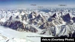 Горный массив Латок впакистанском Каракоруме
