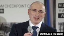 Пресс-конференция Михаила Ходорковского в Берлине, 22 декабря 2013