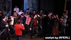 Кавказ ыр-бийлери концертинен, Бишкек, 13-январь, 2013