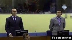 Ramuš Haradinaj u sudnici Haškog tribunala