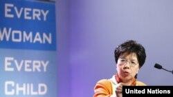 Drejtoresha e përgjithshme e Organizatës Botërore të Shëndetësisë Margaret Çan