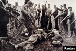 قربانیان حکومت اوستاشا که حمایت آلمان نازی برخوردار بود