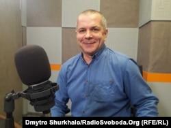 Тарас Чухліб у студії Радіо Свобода