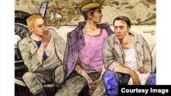 """Erich Maria Remarque'ın """"Üç yoldaş"""" kitabının üzü"""
