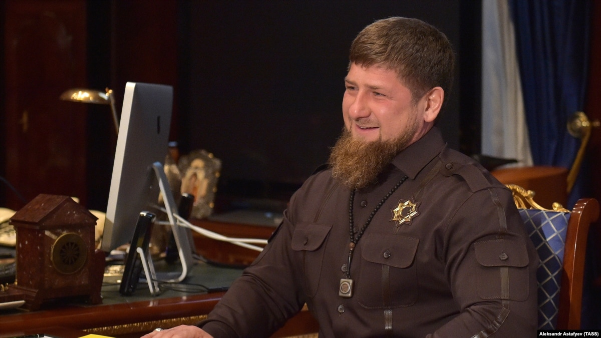 The youngest general in Russia. President of the Chechen Republic Ramzan Kadyrov