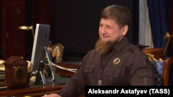Chechen leader Ramzan Kadyrov said there were no homosexuals in Chechnya to persecute.