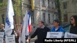Пикет против фестиваля ЛГБТ-сообщества (Москва 28 апреля 2012 года)