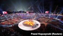 پيونګ چانګ کې د ژمنيو اولمپيک لوبو د پېل ننداره