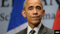 ԱՄՆ-ի նախագահ Բարաք Օբաման Բավարիայում Մեծ յոթնյակի երկրների գագաթնաժողովում, 8-ը հունիսի, 2015թ.