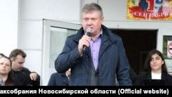 Депутат Новосибирского Заксобрания Олег Мирошников