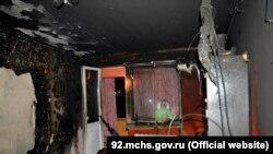 Квартира, що згоріла, по вулиці Горпищенко, Севастополь