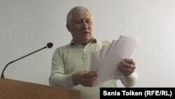 Тахир Ерданов, представитель Куспана Косшыгулова в суде.