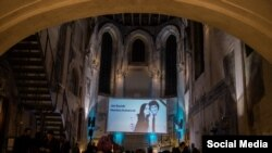 One World 2018 opened by remembering Slovak journalist Ján Kuciak and his girlfriend Martina Kušnírová, who were found shot dead in their home on 25 February. (Foto: Eva Kořínková)