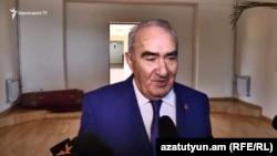 Галуст Саакян, Ереван, 28 августа 2018 г.