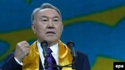 Қазақстан президенті Нұрсұлтан Назарбаев. Астана, 27 сәуір 2015 жыл.