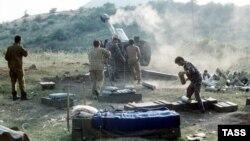Qarabağda Azərbaycan artilleriyası – 1992