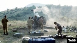 Azərbaycan artilleriyası. 1992