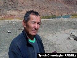 Археолог Орозбек Солтобаев. 27.9.2012.