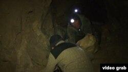 Нелегальная шахта в Кыргызстане. Иллюстративное фото.