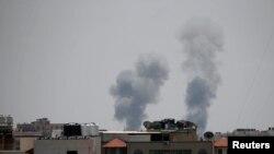 Газа шаарына Израиль аба соккусун жасагандан кийинки көрүнүш. 29-май, 2018-жыл.