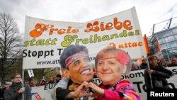 Protesta në Hanover, 23 prill 2016