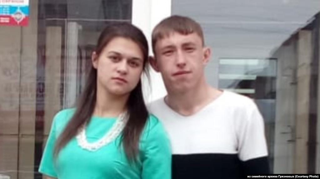 Житель Слюдянки Валерий Грязнов с женой Екатериной