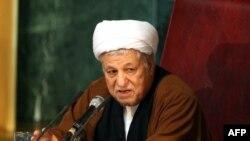 آیتالله هاشمی رفسنجانی، ئییس مجلس خبرگان رهبر و رییس مجمع تشخیص مصلحت نظام