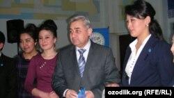 Бывший кандидат в президенты Хотамжон Кетмонов.