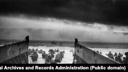 Высадка амэрыканскіх войск у Нармандыі. Раніца 6 чэрвеня 1944