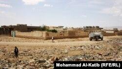 ضاحية فقيرة في الموصل