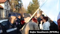 Protest sindikata protiv Zakona o radu u Banjoj Luci