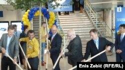 Ivo Josipović na otvaranju Ikee